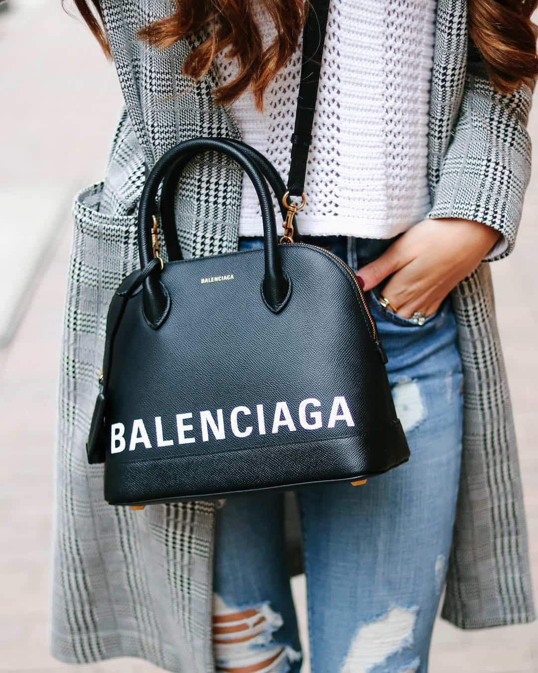 Balenciaga's Ville Top Handle S