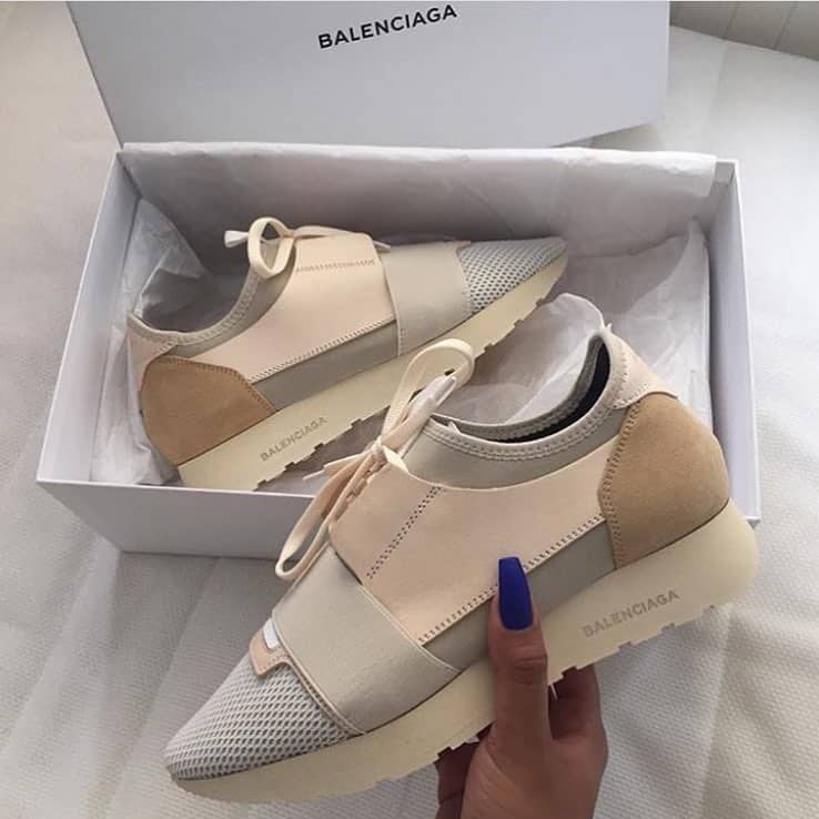 Balenciaga Natural Race Runner Style