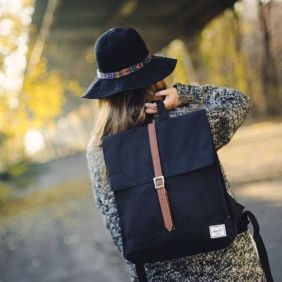 Versatile Black Herschel Backpack