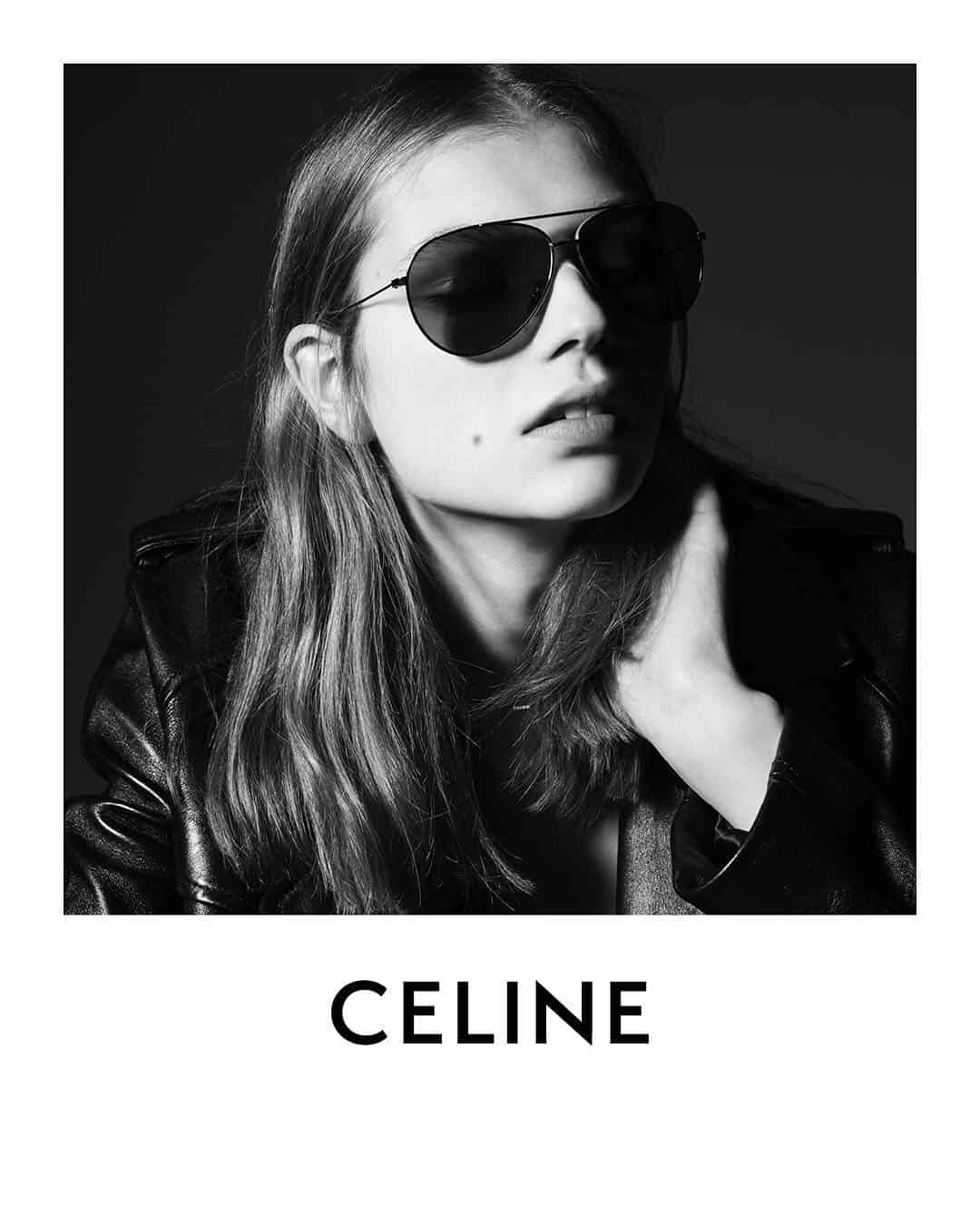 CELINE METAL FRAME 001 SUNGLASSES